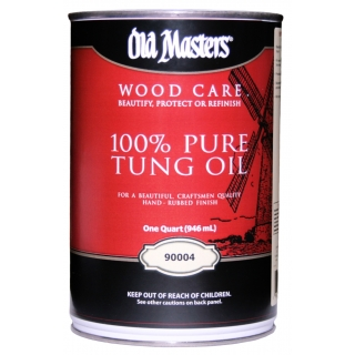 ТУНГОВОЕ МАСЛО с ВОСКОМ Old Masters Pure Tung Oil - фото - 1