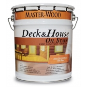 МАСЛО с полиуретаном Master-Wood Deck&House Semi-Transparent Oil Stain - фото - 22